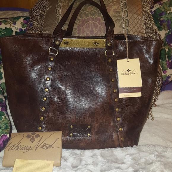 503e89934 Patricia Nash Bags | Leather Benvenuto Tote Nwts | Poshmark